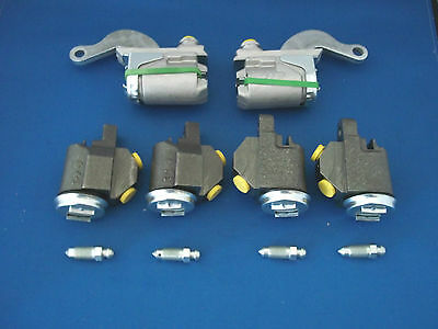 Morris Minor Complete Set Of  Wheel Cylinders  X 6 & Brake Shoe Sets