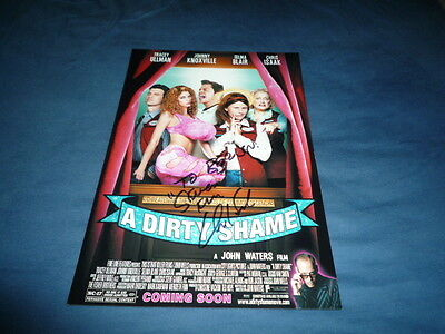 CHRIS ISAAK signed Autogramm 20x30 cm In Person A DIRTY SHAME Selma Blair