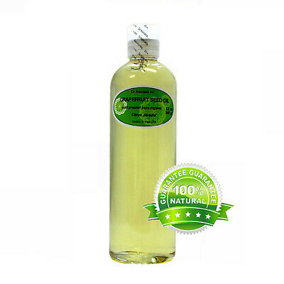 PURE GRAPEFRUIT SEED CARRIER OIL ORGANIC COLD PRESSED 2 OZ 4 OZ -UP TO  7 LB