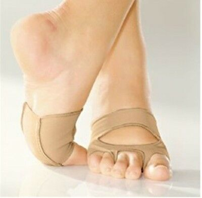 So Danca MD-16 Adult Petite/Sm (Fits Sizes 3-4) Caramel Cat's Paw Lyrical Shoes