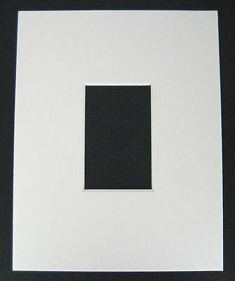 10 11x14 8-ply mat mattes WHITE for 5x7 Photo picture
