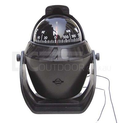 12V Large Illuminated Compass for Marine, Cars and Trucks