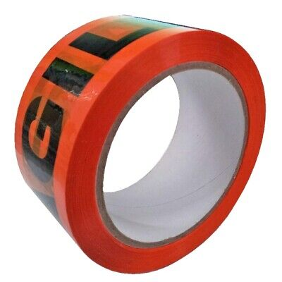 6 x Rolls Fragile Packing Packaging Tape 48mm x 75m 48micron - GREAT QUALITY