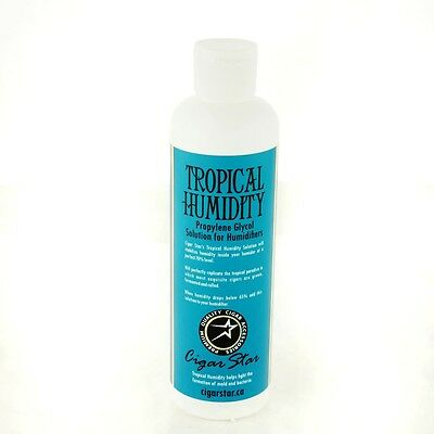 Tropical Humidity Propylene Glycol Humidor Solution New