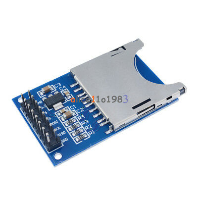 2PCS  SD Card Module Slot Socket Reader For Arduino ARM MCU Read And Write