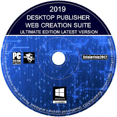 Desktop Publisher Publishing Web Creating Design Software for Windows PC MAC