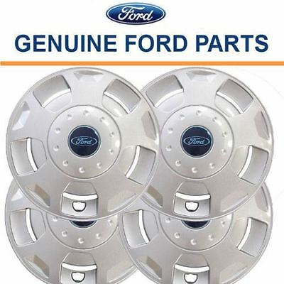 "Genuine Ford Transit 2000 & 2006 onwards Set of 4 15"" Wheel Trims Hub Caps Cover"