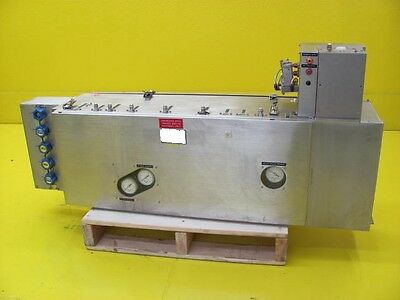 Lam Research 853-024403-100-8 Orbital Gas Panel Assembly 4420 Etcher As-Is