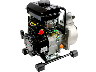 "1"" Petrol 2.5HP Water Pump with 4 Stroke Motor Engine Transfer Camping Garden"