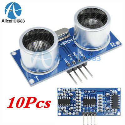 10PCS Ultrasonic Sensor Module HC-SR04 Distance Measuring Sensor for arduino
