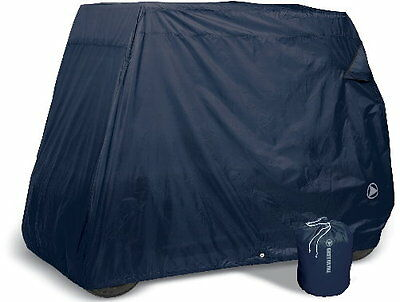 Goldline Premium 4 Person Passenger Golf Car Cart Storage Cover, Navy Blue