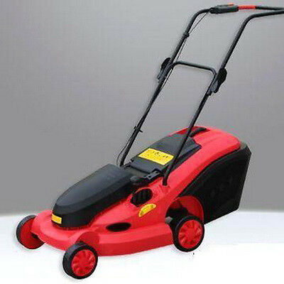 """CLEARANCE SALE! 24V DC 350W 14"""" Cordless Rechargeable LawnMower Electric 9 MOWER"""