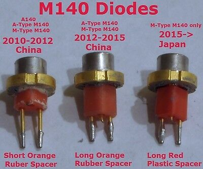 2W 445nm M-Type (Japan) M140 Blue Laser Diode Brand New