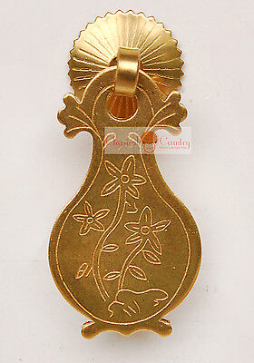 4set Furniture Hardware Copper Drawer Handle Brass Cabinet Pull Chinese 2.56""