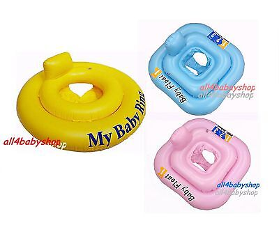 Baby Infant Inflatable Swimming Aid Trainer Seat Ring 0-12M, 0-1y ,1-2y 2 Color