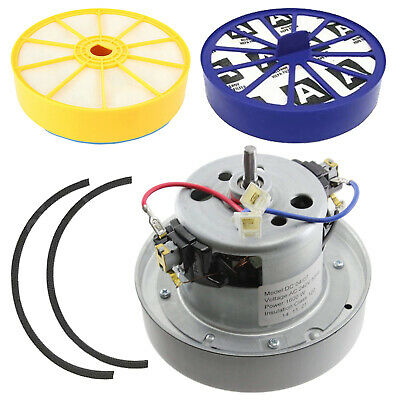 YV 2200 YDK TYPE Vacuum MOTOR Fits DYSON DC07  & Hepa + Post Filter & Seal KIT
