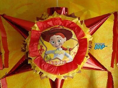 Pinata Jessie Cowgirl Toy Story 3 Star Shape Festive Holds 2 to 5 Pounds Candy!