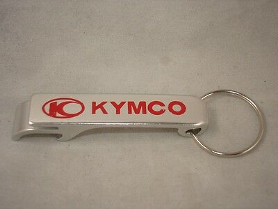 NEW Kymco Bottle Opener Metal Keychain Collectible