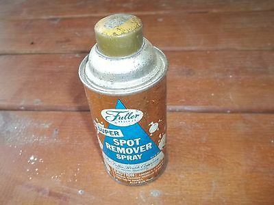 Vintage Fuller Brush Company Connecticut Super Spot Remover Spray Empty Can