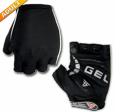 Mens Cycling Gloves *Gel Padded*half-finger*comfy*breathable*- Bicycle/Bike
