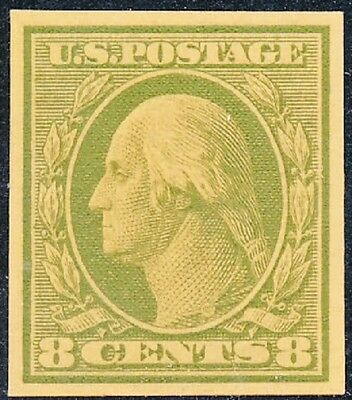 #337Tc Trial Color Die Proof Green On Yellow Wl901