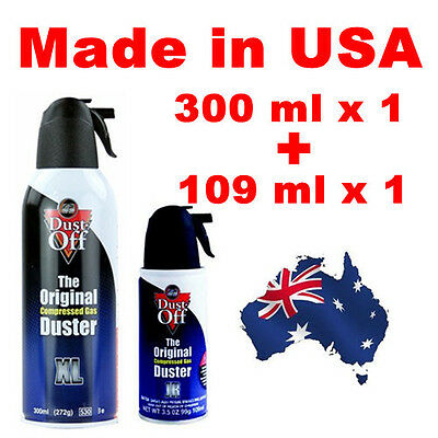 Dust-Off The Compressed Air Duster Can, PC Laptop Fan CPU Electronics Cleaner