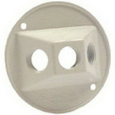 NEW Bell Outdoor #5197-6 White WP Round Lamp Cover