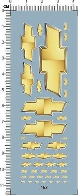 Decals Chevrolet for different scales model kits (462)