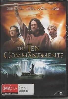 TEN COMMANDMENTS, THE: (2006) Dougray Scott, Omar Sharif DVD NEW