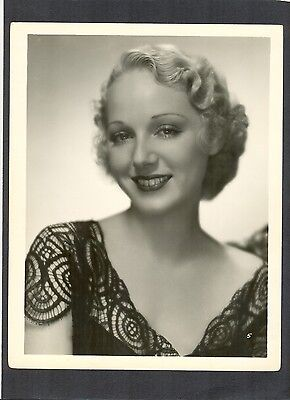 SEXY LEILA HYAMS - EXC COND 1930s - STAR OF FREAKS + ISLAND OF LOST SOULS HORROR