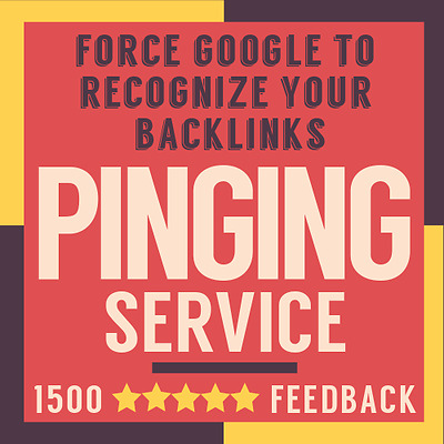 Force Google to Recognize Your Backlinks + Real Time Live Ping Report