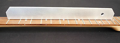 """Luthier tool, 13"""" precision straightedge for checking relief on guitar setup"""