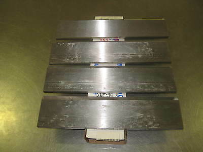 "(4) New 12"" Wayne & Woodchuck Wood Chipper Blades 12 X 3 X 3/8 Serrated Usa Made"