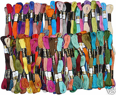100 Anchor Cross Stitch Embroidery Thread Floss *100% Pure Cotton Thread