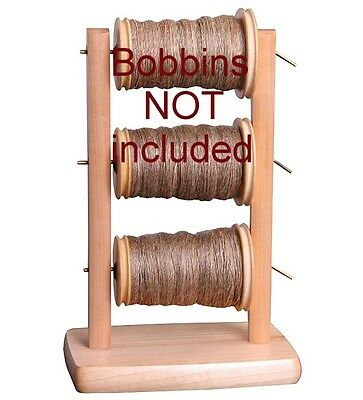 LAZY KATE ONLY / Bobbin Holder  Ashford for spinning wheels Bobbins NOT included