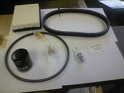 Club Car Gas Golf Cart Tune Up Kit with Belts 1992-1996 OHV