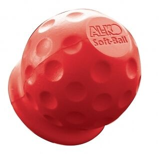 Genuine ALKO Towball Cover Red Softball Golfball with AL-KO Logo Towbar