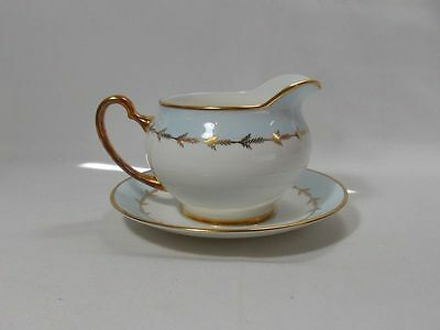 Royal Grafton Catherine Round Gravy Boat with Underplate