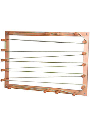 WARPING BOARD for Weaving Looms - Essential for winding your warp - bare timber