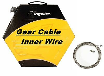 JAGWIRE Inner Bike Gear Cable Wire Shimano & Sram Galvanised, Stainless, Slick