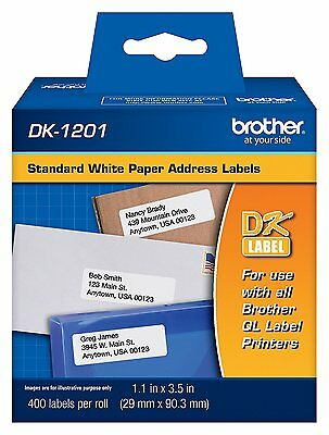 Brother DK1201 Address Shipping Label Tape for QL-500/QL-550 NEW