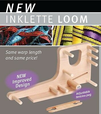 "INKLE LOOM ""INKLETTE"" Ashford Small Size Weave bands bookmarks belts bare timber"