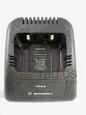 Motorola Oem Standard Charger Tray No A/c For Jedi Radio Ht1000 Mtx8000 Mts2000