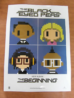 BLACK EYED PEAS - The Beginning [OFFICIAL] POSTER *NEW*
