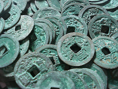 Ancient Chinese Coins Cash Coin Ming Dynasty History