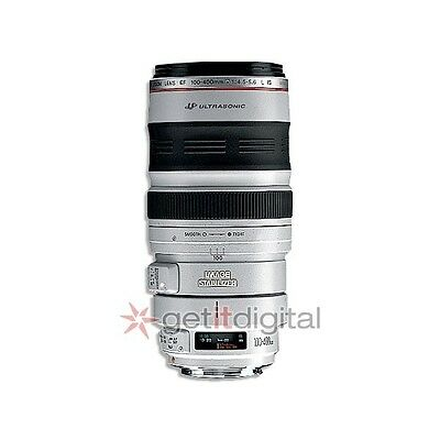 USA Warranty Canon EF 100-400mm f/4.5-5.6 L IS USM Telephoto Lens for Canon DSLR