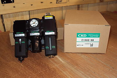 CKD F.R.L. Filter Regulator Lubricator C1000-6N