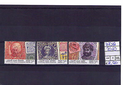 """India 2010 """"Princely State"""" Mnh"""