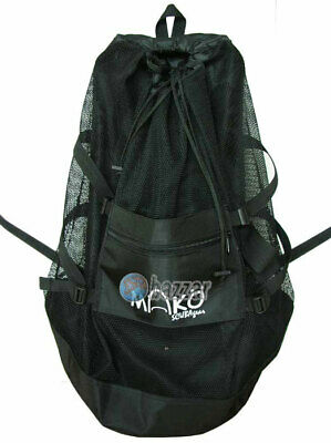 Scuba Dive Gear Diving Snorkel Kayak Canoe Camp Hiking Beach Bag Mesh Backpack