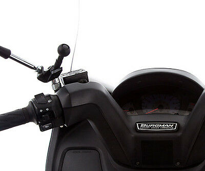 Ultimate Addons Motorcycle Bike Scooter Mirror Crossbar V2 Stem Mount Attachment